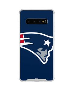 New England Patriots Large Logo Galaxy S10 Clear Case
