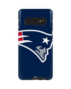 New England Patriots Large Logo Galaxy S10 Plus Pro Case