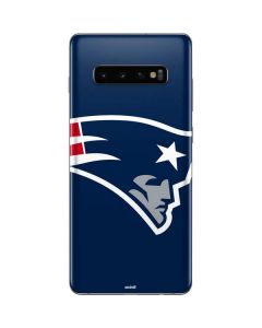 New England Patriots Large Logo Galaxy S10 Plus Skin