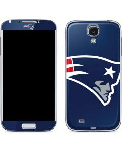 New England Patriots Large Logo Galaxy S4 Skin
