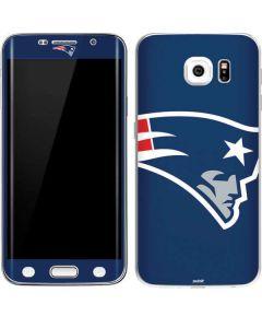 New England Patriots Large Logo Galaxy S6 Edge Skin