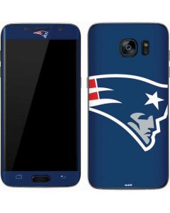 New England Patriots Large Logo Galaxy S7 Skin