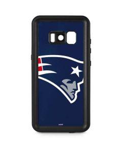 New England Patriots Large Logo Galaxy S8 Plus Waterproof Case