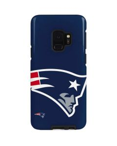 New England Patriots Large Logo Galaxy S9 Pro Case