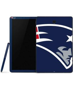 New England Patriots Large Logo Samsung Galaxy Tab Skin