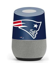 New England Patriots Large Logo Google Home Skin