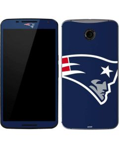 New England Patriots Large Logo Google Nexus 6 Skin