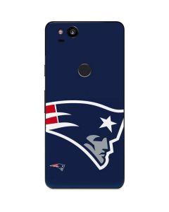 New England Patriots Large Logo Google Pixel 2 Skin