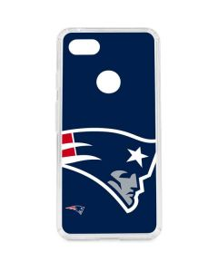 New England Patriots Large Logo Google Pixel 3 XL Clear Case