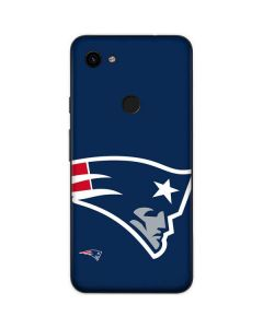 New England Patriots Large Logo Google Pixel 3a Skin