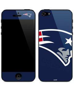 New England Patriots Large Logo iPhone 5/5s/SE Skin