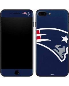 New England Patriots Large Logo iPhone 8 Plus Skin