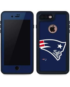 New England Patriots Large Logo iPhone 8 Plus Waterproof Case