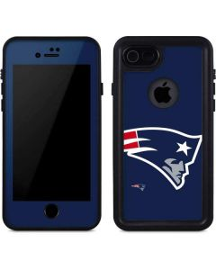 New England Patriots Large Logo iPhone 8 Waterproof Case