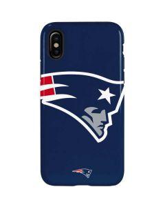 New England Patriots Large Logo iPhone X Pro Case