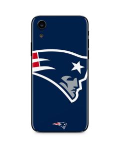 New England Patriots Large Logo iPhone XR Skin