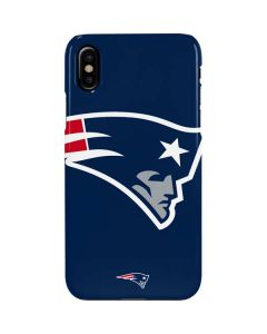 New England Patriots Large Logo iPhone XS Max Lite Case