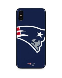 New England Patriots Large Logo iPhone XS Max Skin
