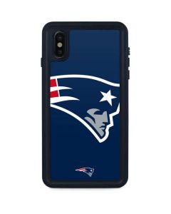 New England Patriots Large Logo iPhone XS Max Waterproof Case