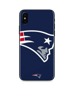 New England Patriots Large Logo iPhone XS Skin