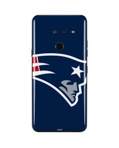 New England Patriots Large Logo LG G8 ThinQ Skin