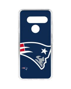 New England Patriots Large Logo LG V40 ThinQ Clear Case