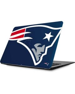 New England Patriots Large Logo Apple MacBook Skin