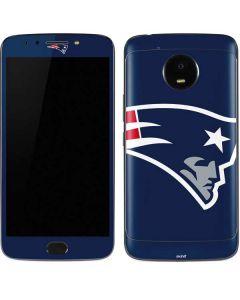 New England Patriots Large Logo Moto E4 Plus Skin