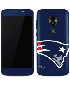 New England Patriots Large Logo Moto E5 Play Skin