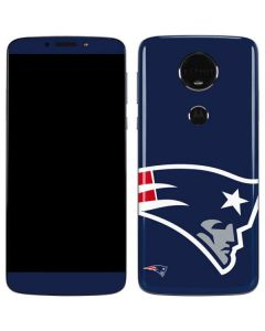New England Patriots Large Logo Moto E5 Plus Skin