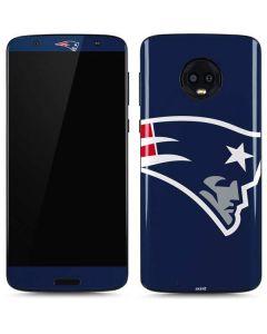 New England Patriots Large Logo Moto G6 Skin