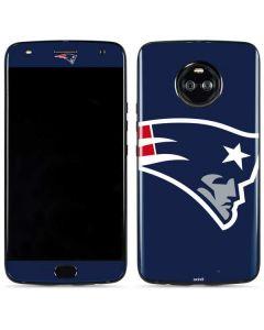 New England Patriots Large Logo Moto X4 Skin