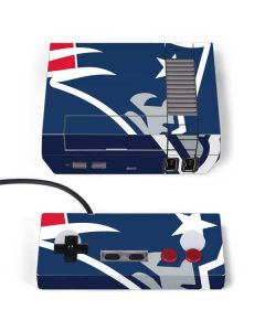 New England Patriots Large Logo NES Classic Edition Skin
