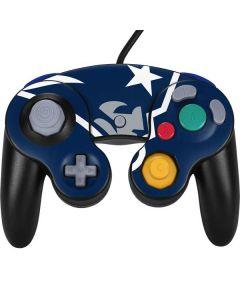 New England Patriots Large Logo Nintendo GameCube Controller Skin