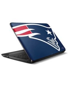 New England Patriots Large Logo HP Notebook Skin