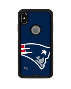New England Patriots Large Logo Otterbox Commuter iPhone Skin