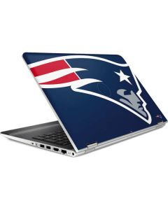 New England Patriots Large Logo HP Pavilion Skin
