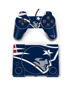 New England Patriots Large Logo PlayStation Classic Bundle Skin