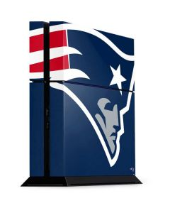 New England Patriots Large Logo PS4 Console Skin