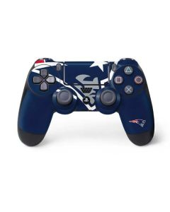 New England Patriots Large Logo PS4 Controller Skin
