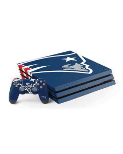 New England Patriots Large Logo PS4 Pro Bundle Skin