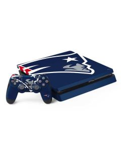 New England Patriots Large Logo PS4 Slim Bundle Skin