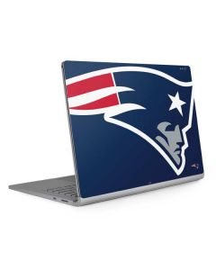 New England Patriots Large Logo Surface Book 2 13.5in Skin