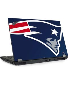New England Patriots Large Logo Lenovo ThinkPad Skin