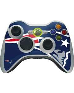 New England Patriots Large Logo Xbox 360 Wireless Controller Skin