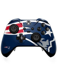 New England Patriots Large Logo Xbox One Elite Controller Skin