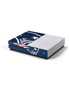 New England Patriots Large Logo Xbox One S Console Skin