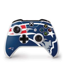 New England Patriots Large Logo Xbox One S Controller Skin