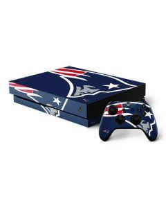 New England Patriots Large Logo Xbox One X Bundle Skin