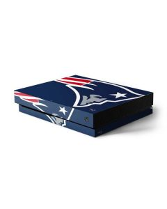 New England Patriots Large Logo Xbox One X Console Skin